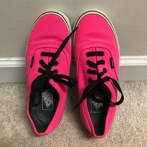 Electric Pink Vans